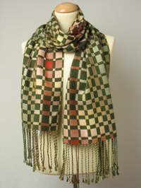 Autumn Duet scarf