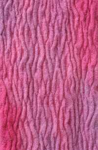 Concertina scarf in pinks