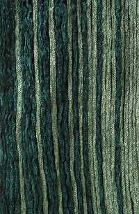Fibonacci pleat wrap in teal