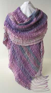 Hummingbird silk wrap