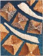 Seashell tapestry